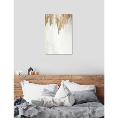 """""""Very Golden"""" by Oliver Gal Canvas Wall Art"""