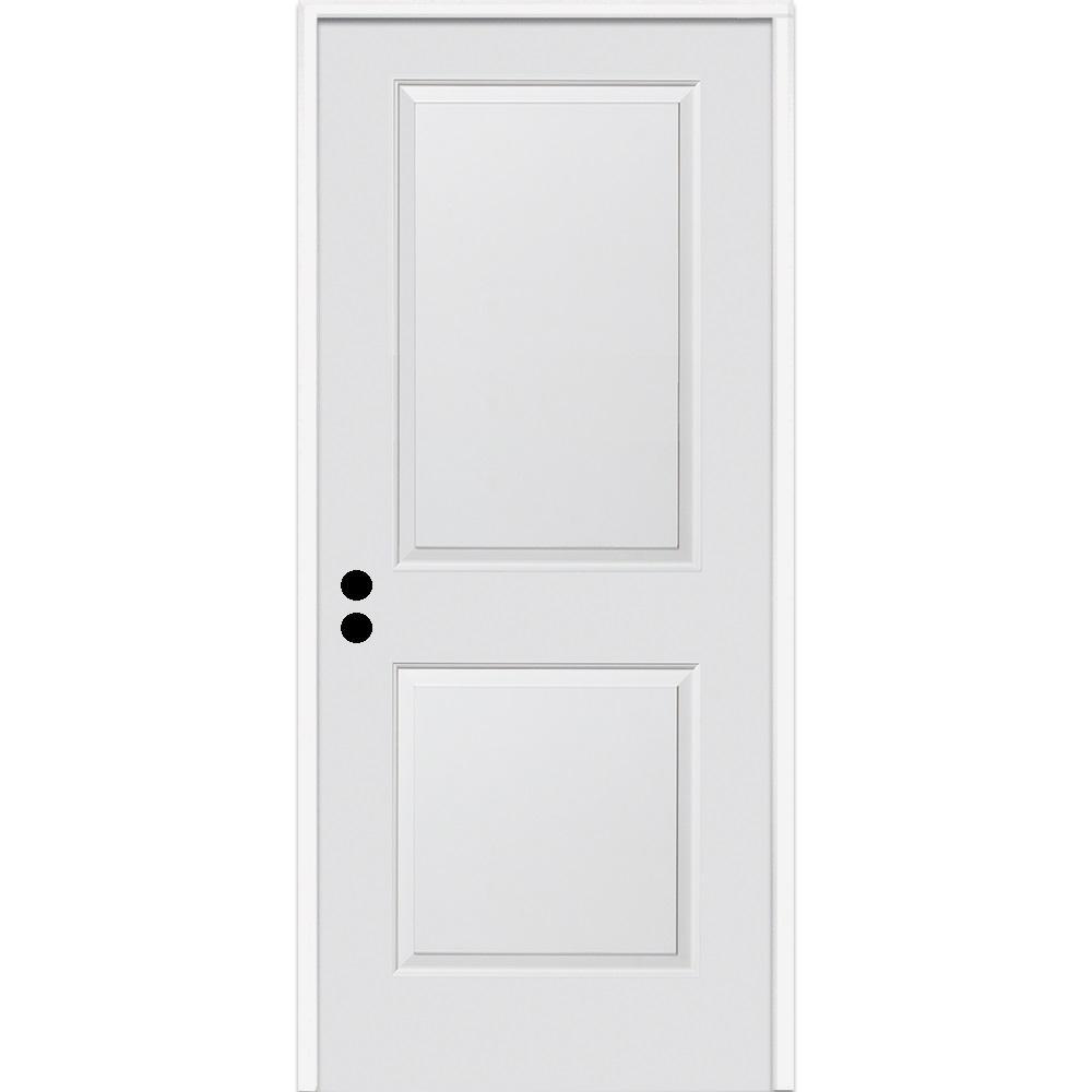MMI Door 32 in. x 80 in. Carrara Right-Hand Primed Compos...
