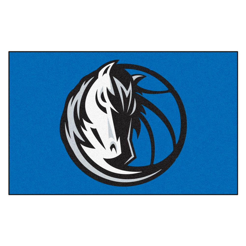 Fanmats Dallas Mavericks 5 Ft X 8 Ft Ulti Mat 9241 The