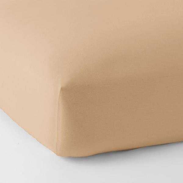 The Company Store Legacy Velvet Flannel Cafe Solid Deep Pocket King Fitted Sheet Ea76 K Cafe The Home Depot