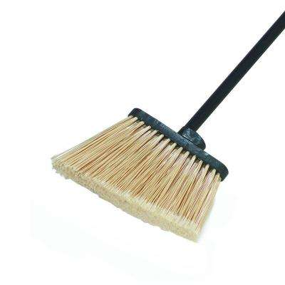 6.5 in. Duo-Sweep Lobby Angle Broom with Polypropylene Bristles 48 in. Handle (Case of 12)