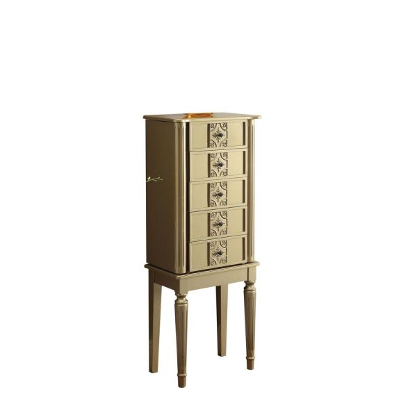 ACME Furniture Tammy Gold Jewelry Armoire 97169