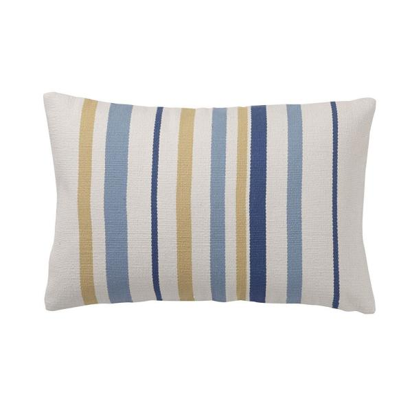 Cstudio Home By The Company Brooklyn 16 In X 24 Blue Striped