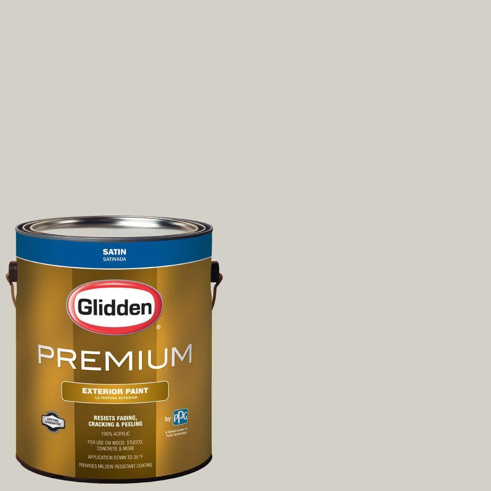 Glidden Premium 1-gal. #HDGCN02 Polished Limestone Satin Latex ...