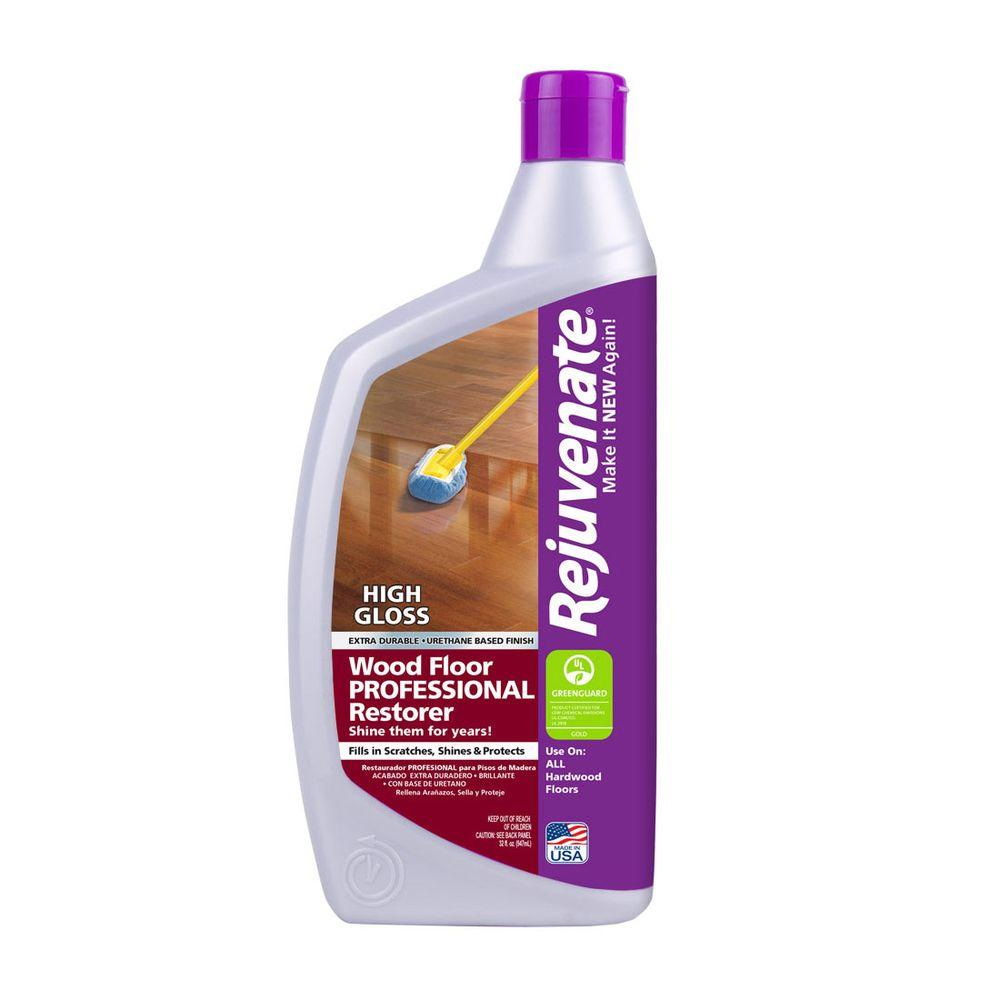Rejuvenate 32 Oz Professional High Gloss Wood Floor Restorer
