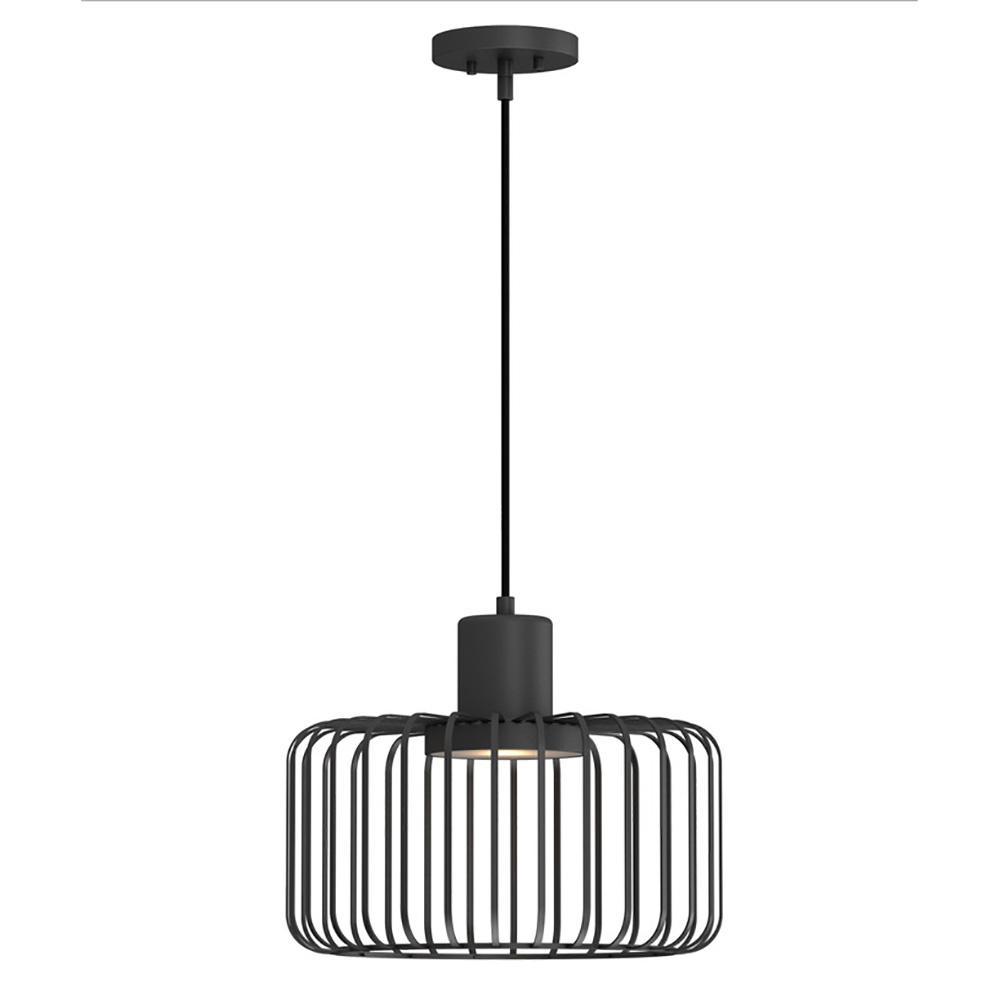 HomeDecoratorsCollection Home Decorators Collection 9.6-Watt Bronze Integrated LED Pendant