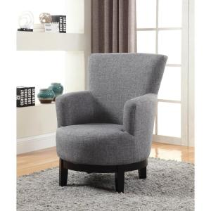 internet null grey swivel accent chair