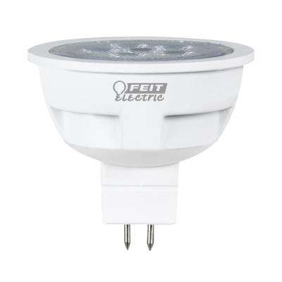 50W Equivalent Warm White (3000K) MR16 LED GU5.3 2-Pin Base 12-Volt Landscape Garden Light Bulb (Case of 12)
