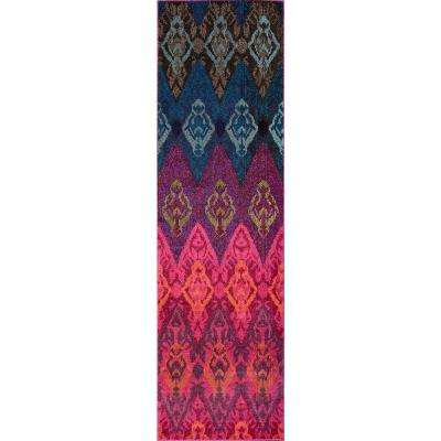 Casa Multi 2 ft. x 8 ft. Indoor Runner Rug