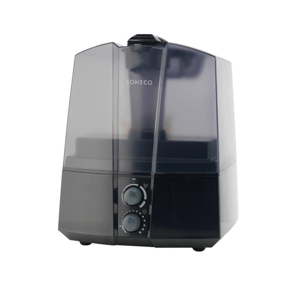 Ultrasonic Micro Fine Mist Auto Shut Off Compact Humidifier Black