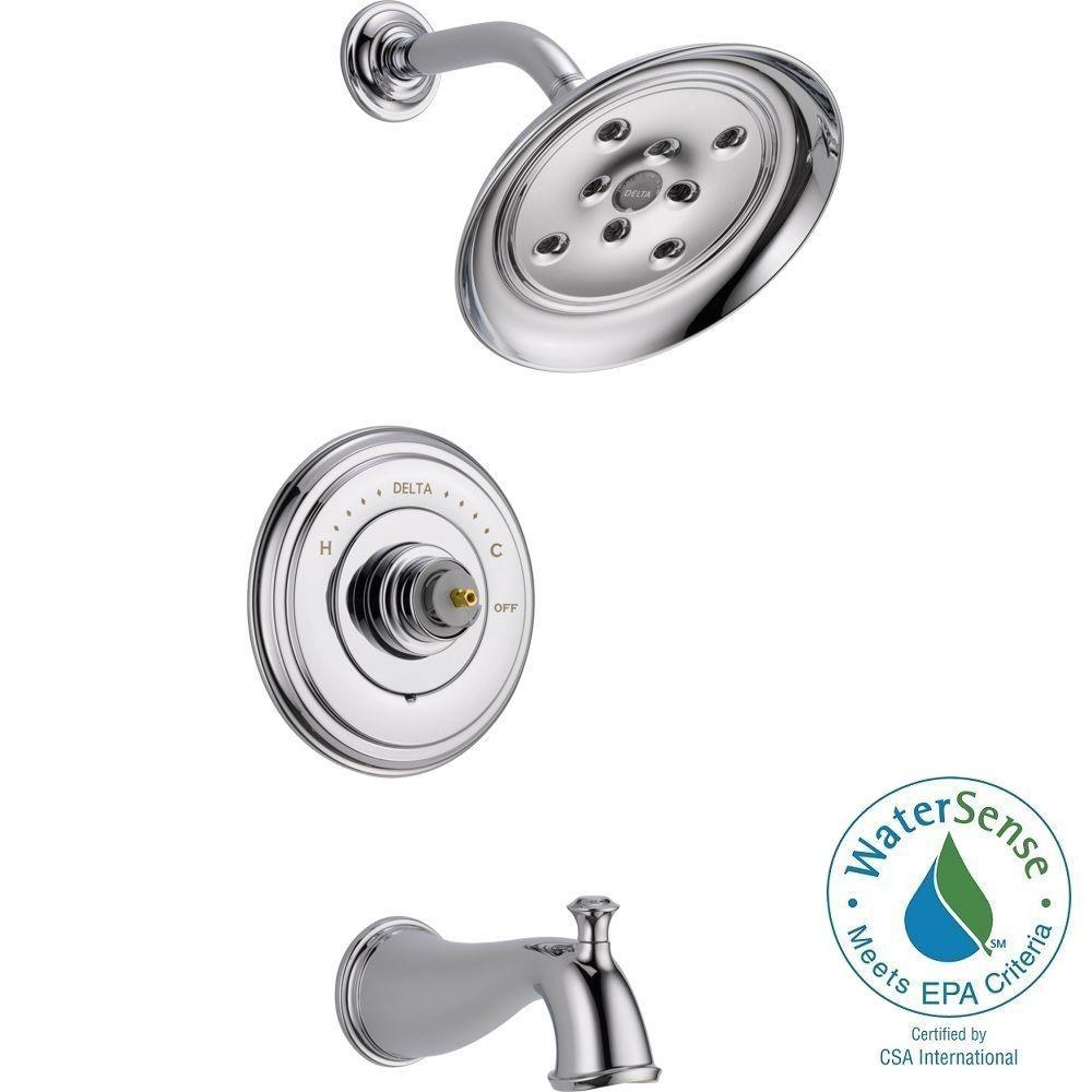 Cassidy 14 Series 1-Handle Tub and Shower Faucet Trim Kit Only