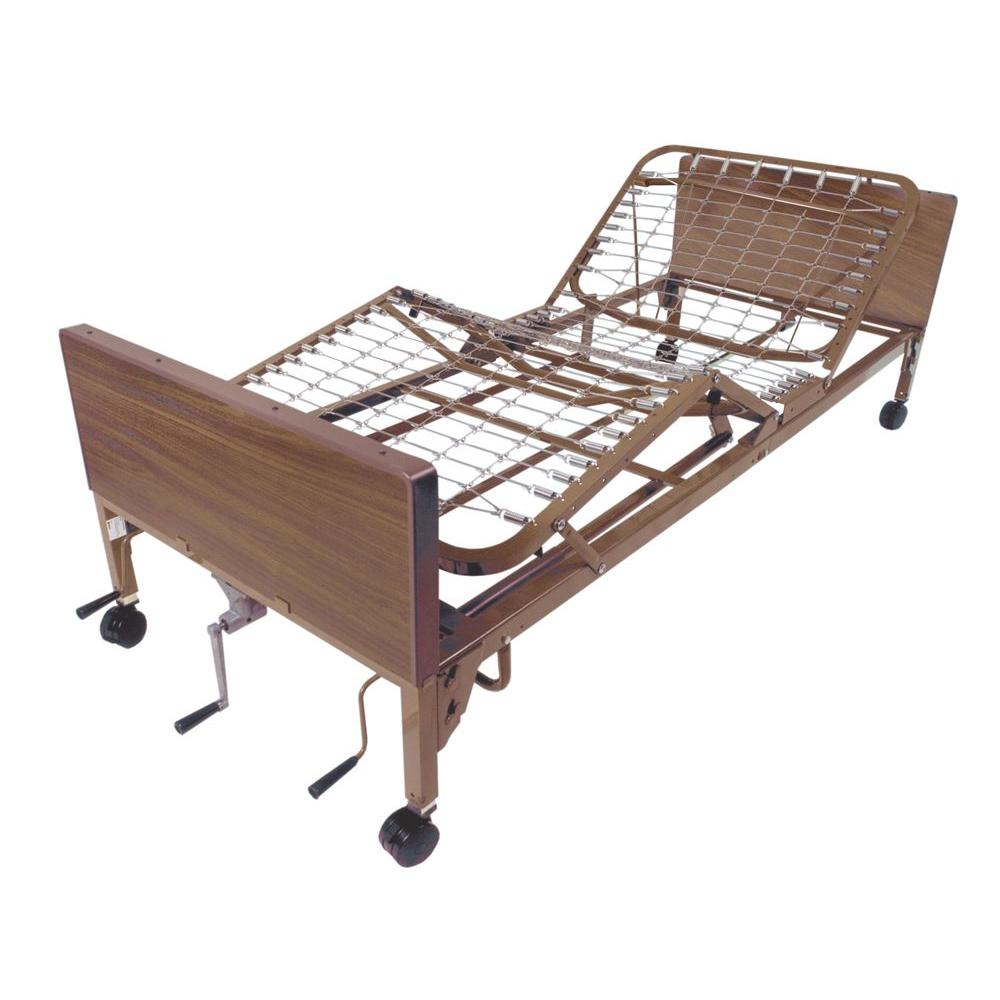 Drive Multi Height Manual Hospital Bed - Frame Only