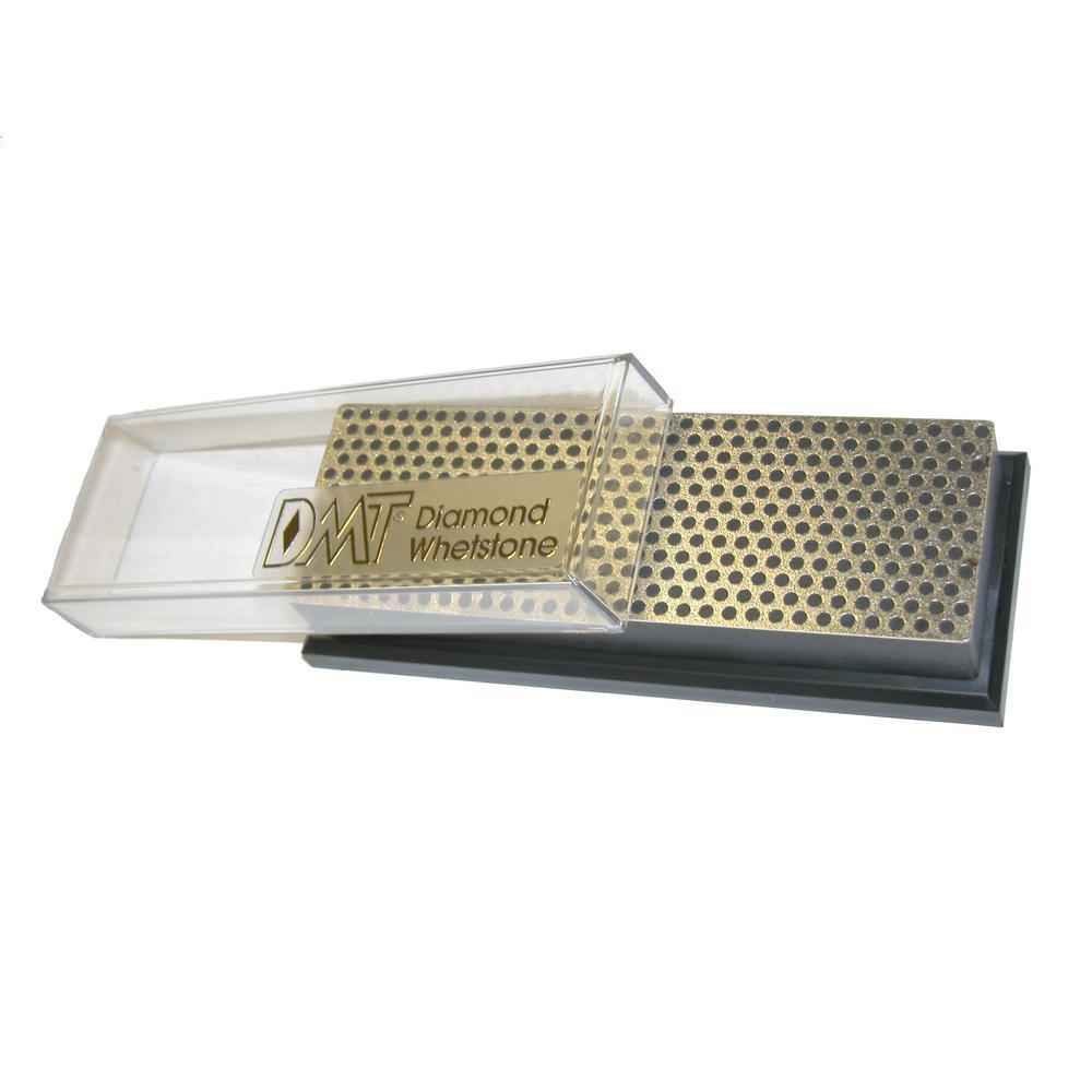 6 in. Diamond Whetstone Sharpener, Extra-Coarse Handheld Sharpener with Plastic Box