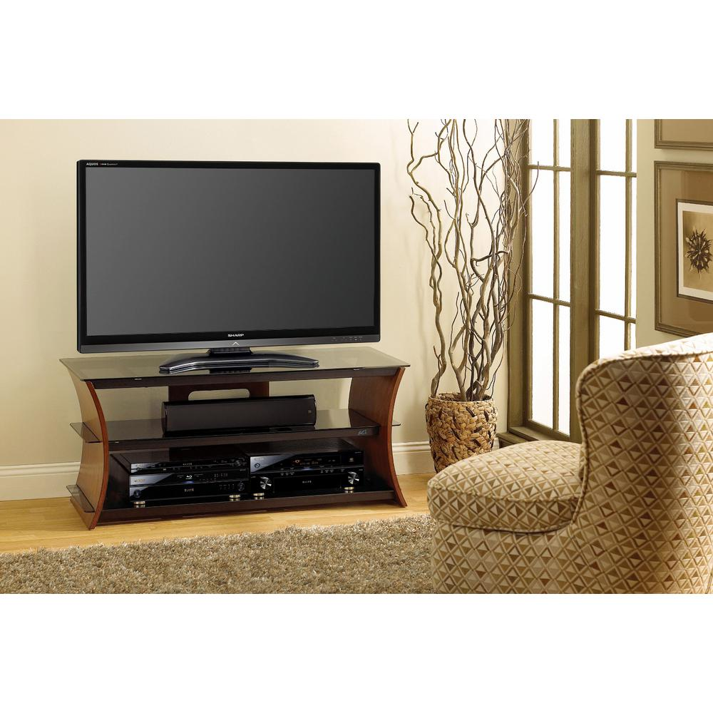 Caramel Brown Entertainment Center
