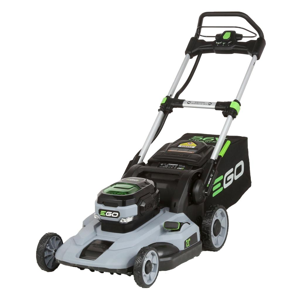 ego walk behind push lawn mower 21 in 56v lithium ion. Black Bedroom Furniture Sets. Home Design Ideas