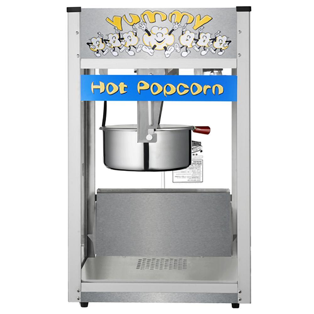 Pop Heaven 12 oz. Blue Countertop Popcorn Machine