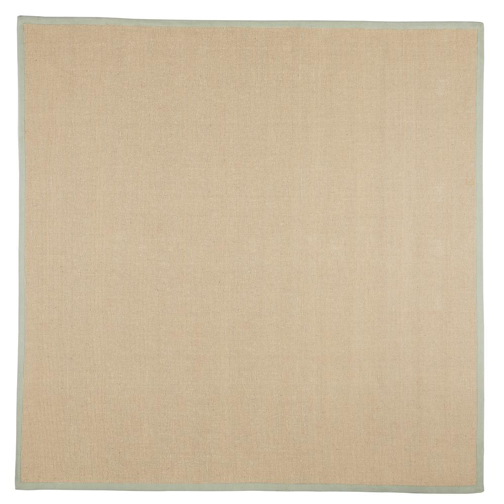 Washable Jute Rugs: Home Decorators Collection Washed Jute Lichen 8 Ft. X 8 Ft