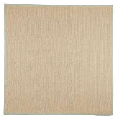 Washed Jute Lichen 8 ft. x 8 ft. Square Area Rug