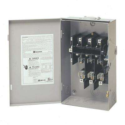 60 Amp 120/240-Volt 14,400-Watt Fused General-Duty Safety Switch