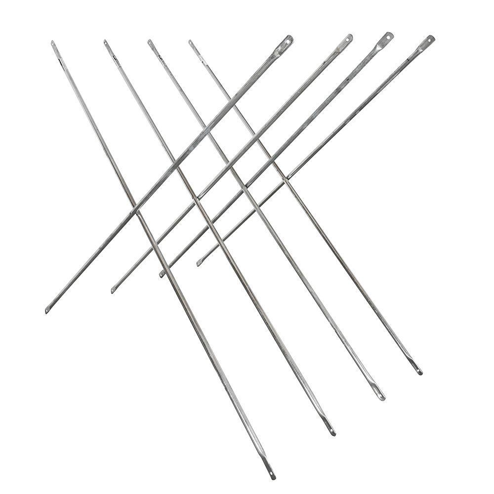 Saferstack 4 ft. x 10 ft. Scaffold Cross Brace (4-Pack)