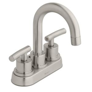 HomeDepot.com deals on Glacier Bay Dorset 4 in. Centerset 2-Handle Bathroom Faucet