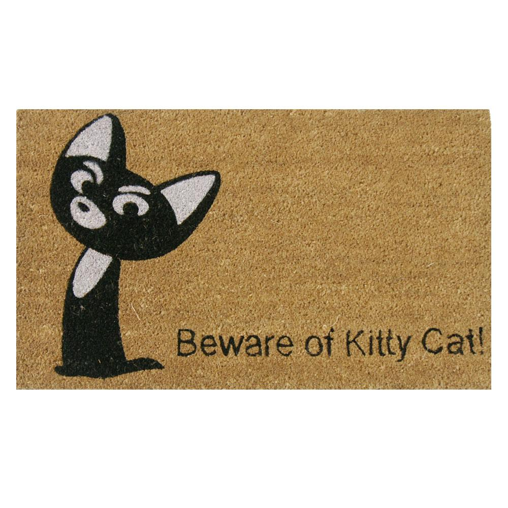 Cat Door Mat