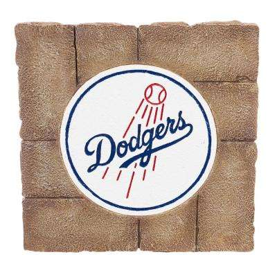 Los Angeles Dodgers 12 in. x 12 in. Decorative Garden Stepping Stone