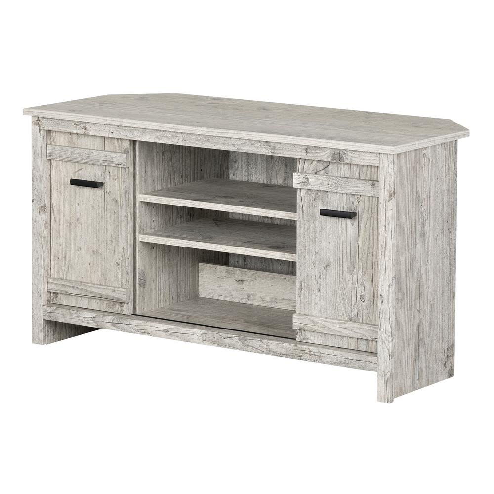 South Shore Exhibit Seaside Pine Tv Stand Up To 42 In 11888 The