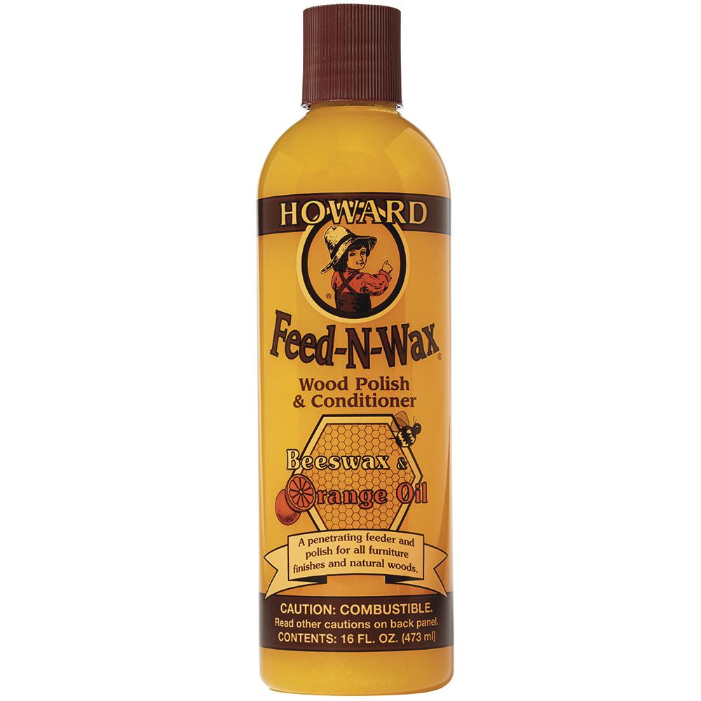 Howard 16 Oz Wood Polish And Conditioner Fw0016 The Home Depot