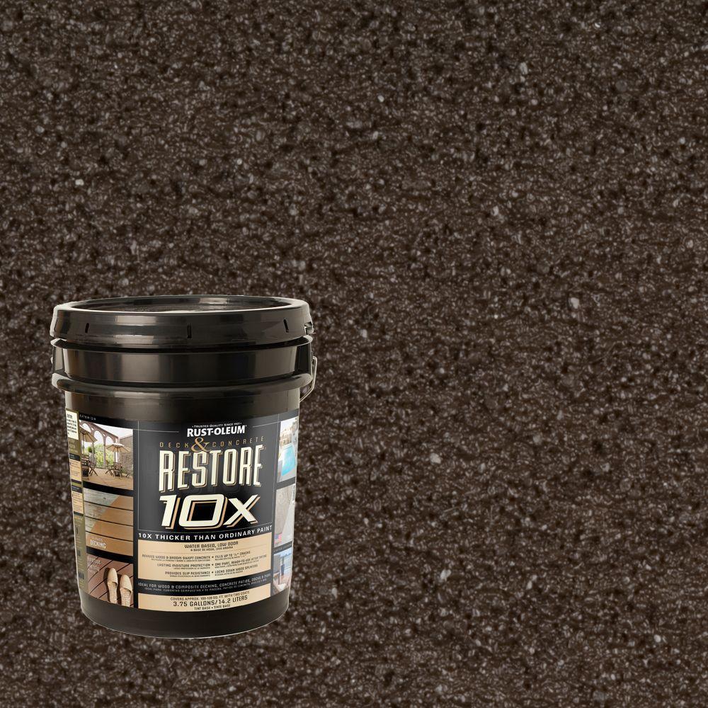 Rust-Oleum Restore 4-gal. Bark Deck and Concrete 10X Resurfacer