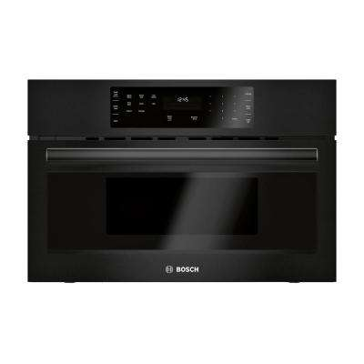 500 Series 30 in. 1.6 cu. ft. Built-In Microwave in Black with Drop Down Door and Sensor Cooking