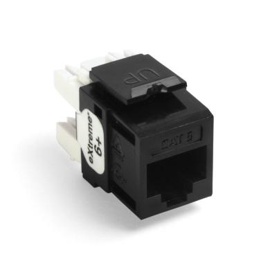 Incredible Leviton Quickport Cat 5E 8 Wire T568A B Wiring Connector Black 10 Wiring Cloud Cosmuggs Outletorg