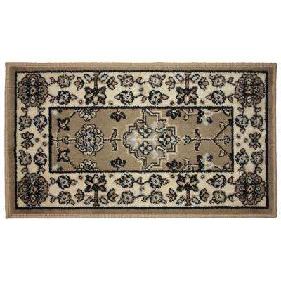 Regency Bordx Multi-Color 19 in. x 33 in. Indoor Mat