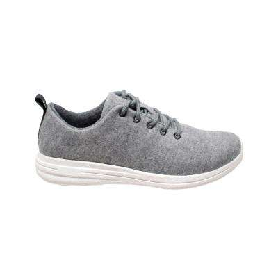 Men's Size 12 Gray Wool Casual Shoes