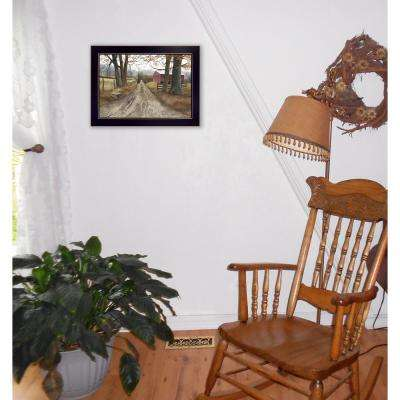"""10 in. x 14 in. """"The Road Home"""" by Billy Jacobs Printed Framed Wall Art"""