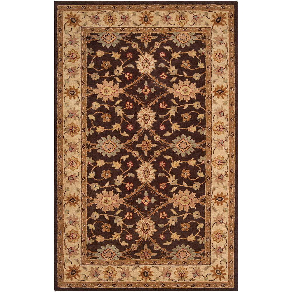 Artistic Weavers Lauro Hot Cocoa 9 ft. x 13 ft. Area Rug