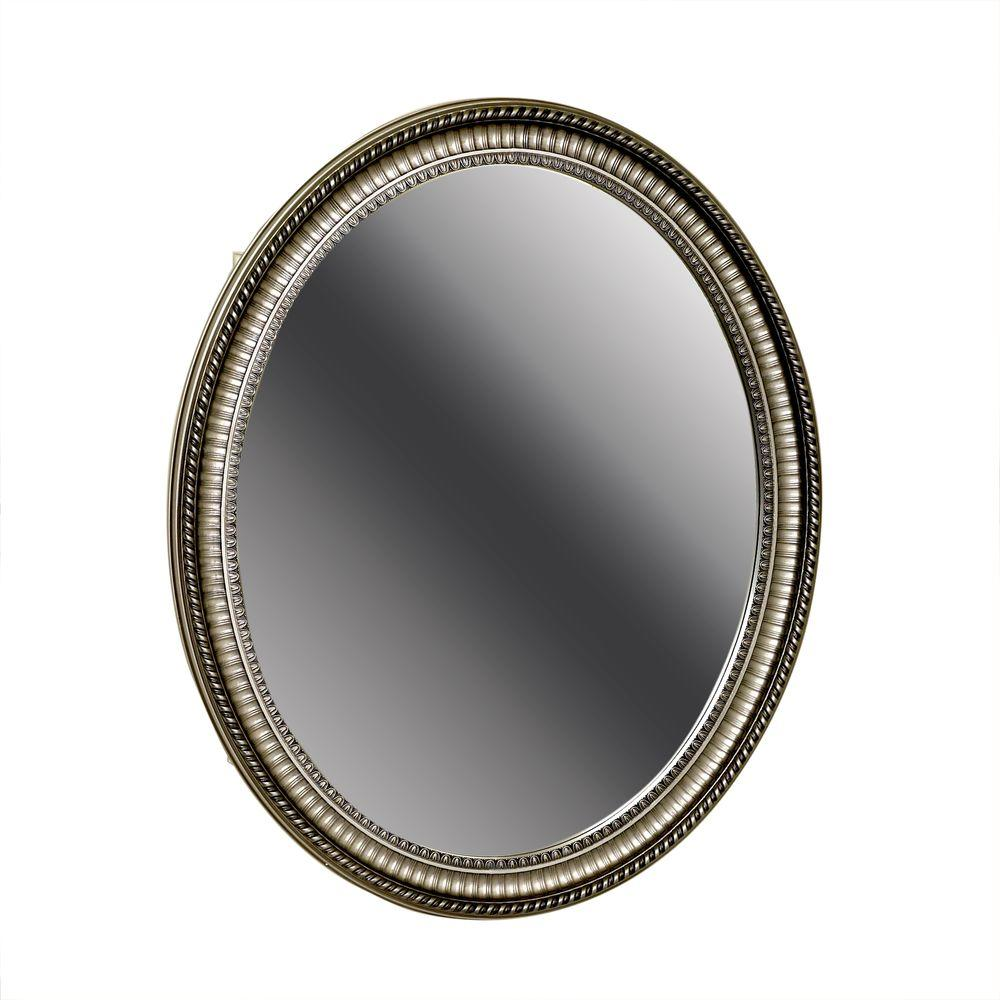 H Zenith Oval Mirror Surface Mount