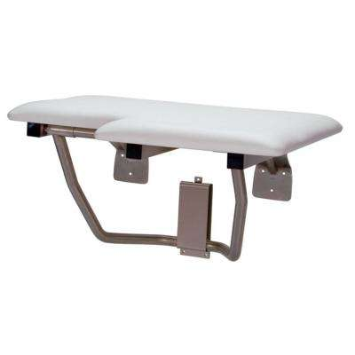 CareGiver 32 in. Left Hand Shower Seat Bench