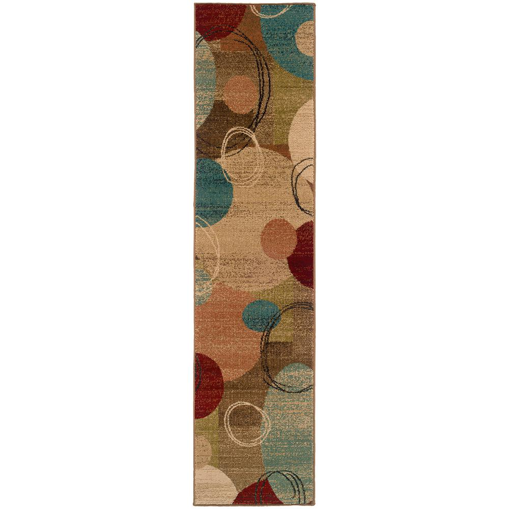 Home Decorators Collection Galaxy Multi 2 ft. x 8 ft. Runner Rug
