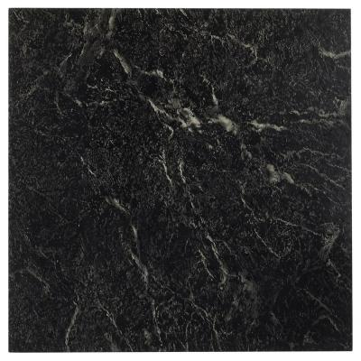 Sterling Black Stone 12 in. x 12 in. Peel and Stick Vinyl Tile (20 sq. ft. / case)