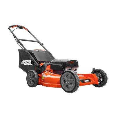 21 in. 58-Volt Brushless Lithium-Ion Cordless Battery Push Lawn Mower - Two 4.0 Ah Batteries and Charger Included