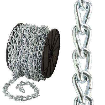 2/0 x 1 ft. Stainless Steel Plated Twisted Link Chain