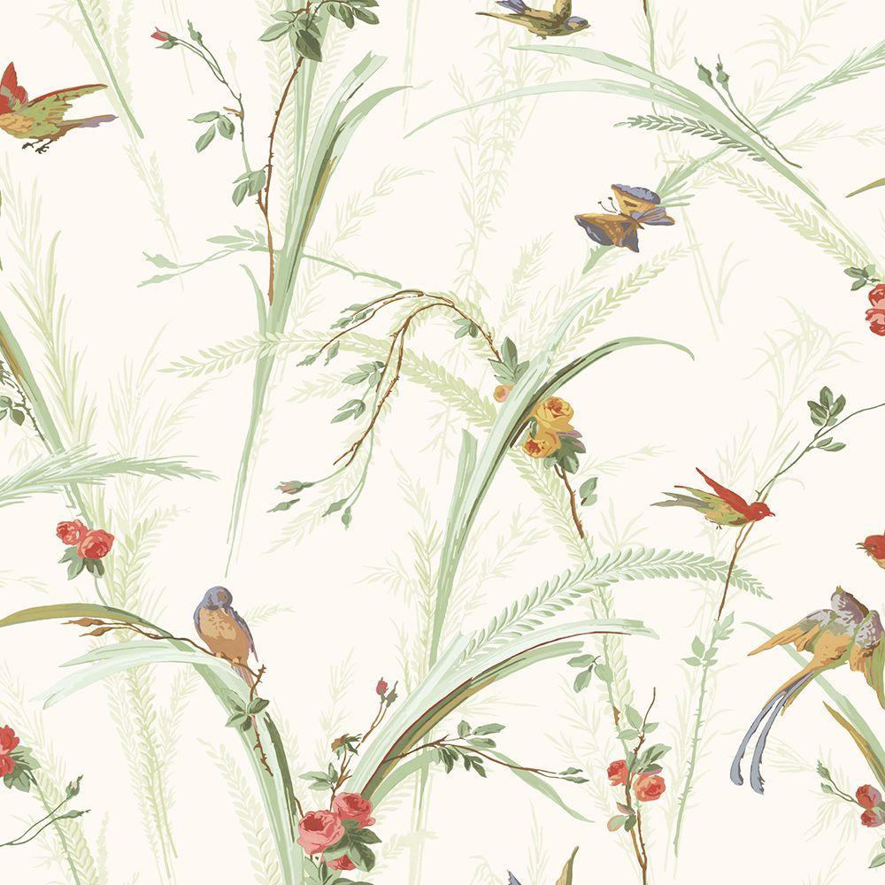 Doreen Green Botanical Wallpaper