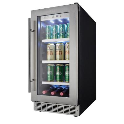 Single Zone 15 in. 66 Can Built-In Beverage Center