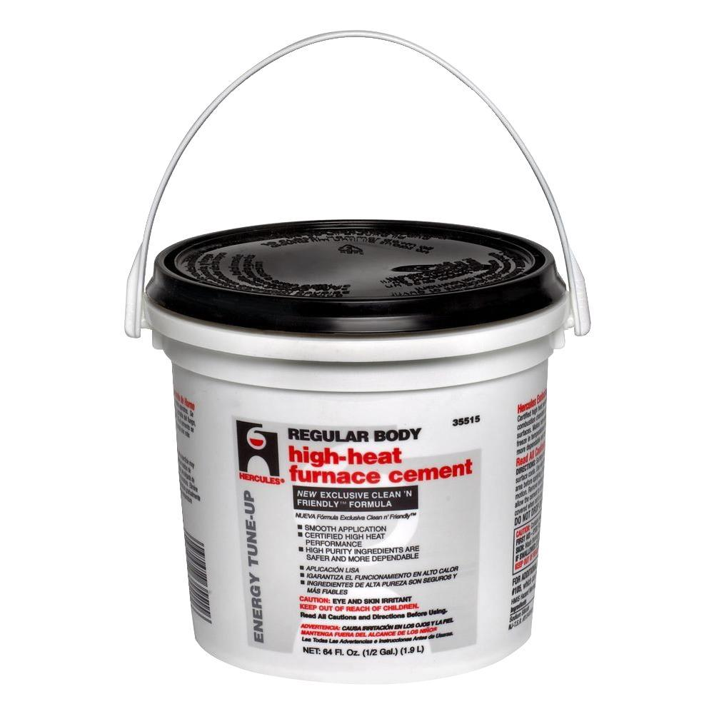 High Temperature Mortar : Hercules gal furnace stove cement the home depot