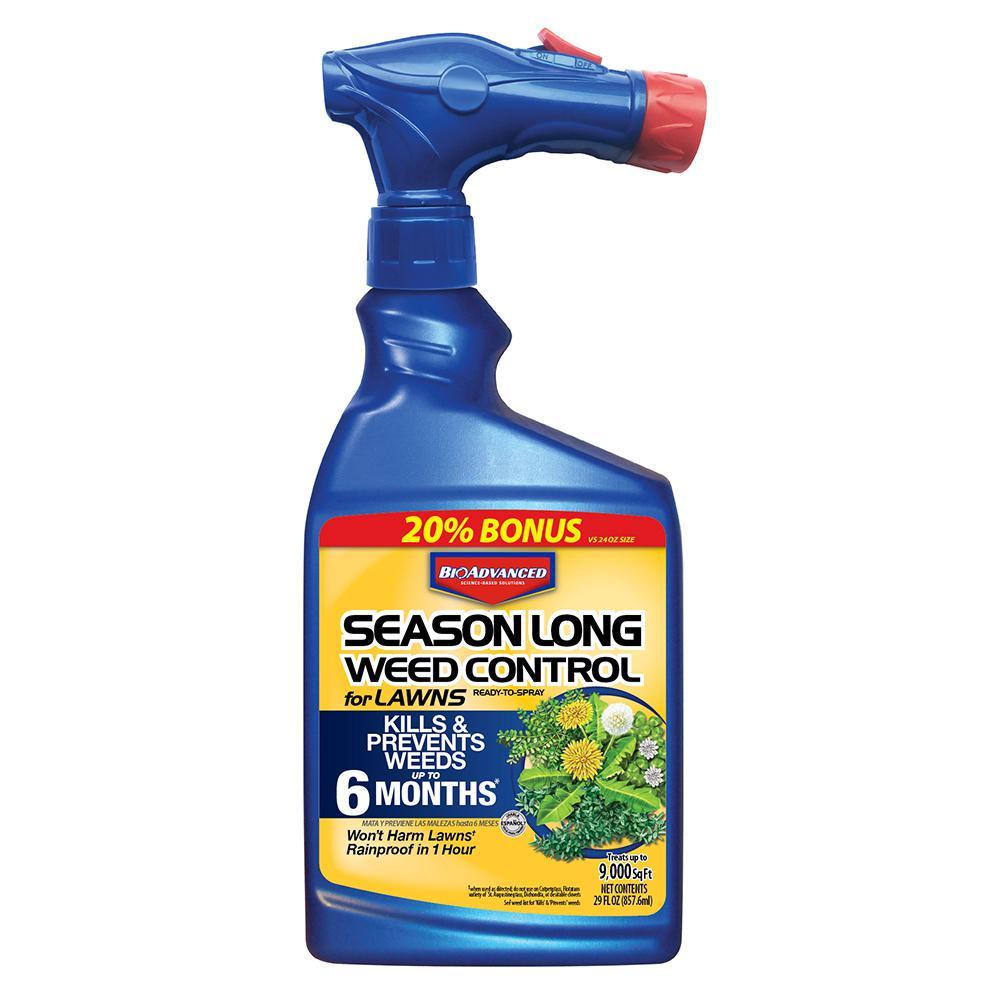 Bioadvanced 24 Oz Ready To Spray Season Long Weed Control For Lawn