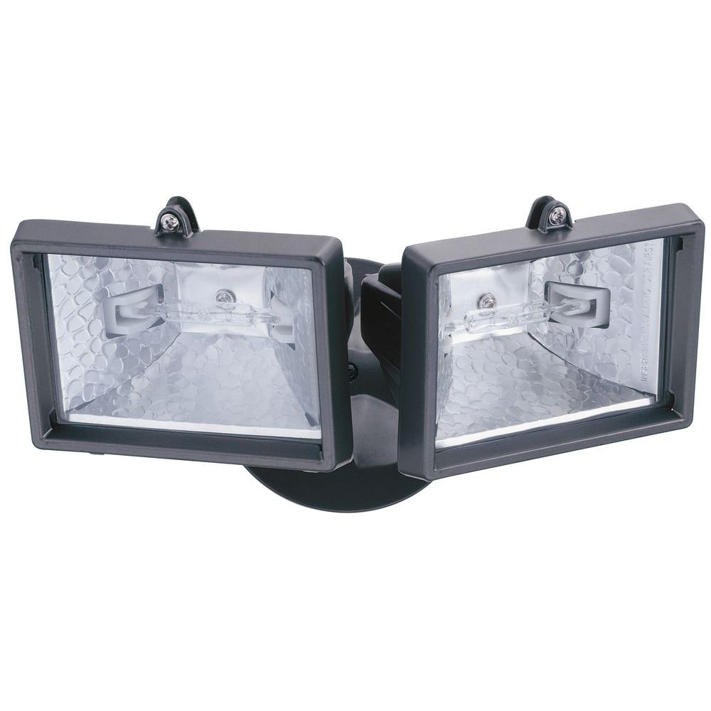 Lithonia Lighting 2 Lamp Bronze Outdoor Flood Light