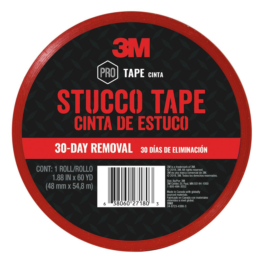 3M 1.88 in x 60 yds. (48 mm x 54.8 m) Stucco Tape