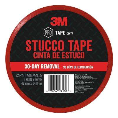 1.88 in x 60 yds. (48 mm x 54.8 m) Stucco Tape