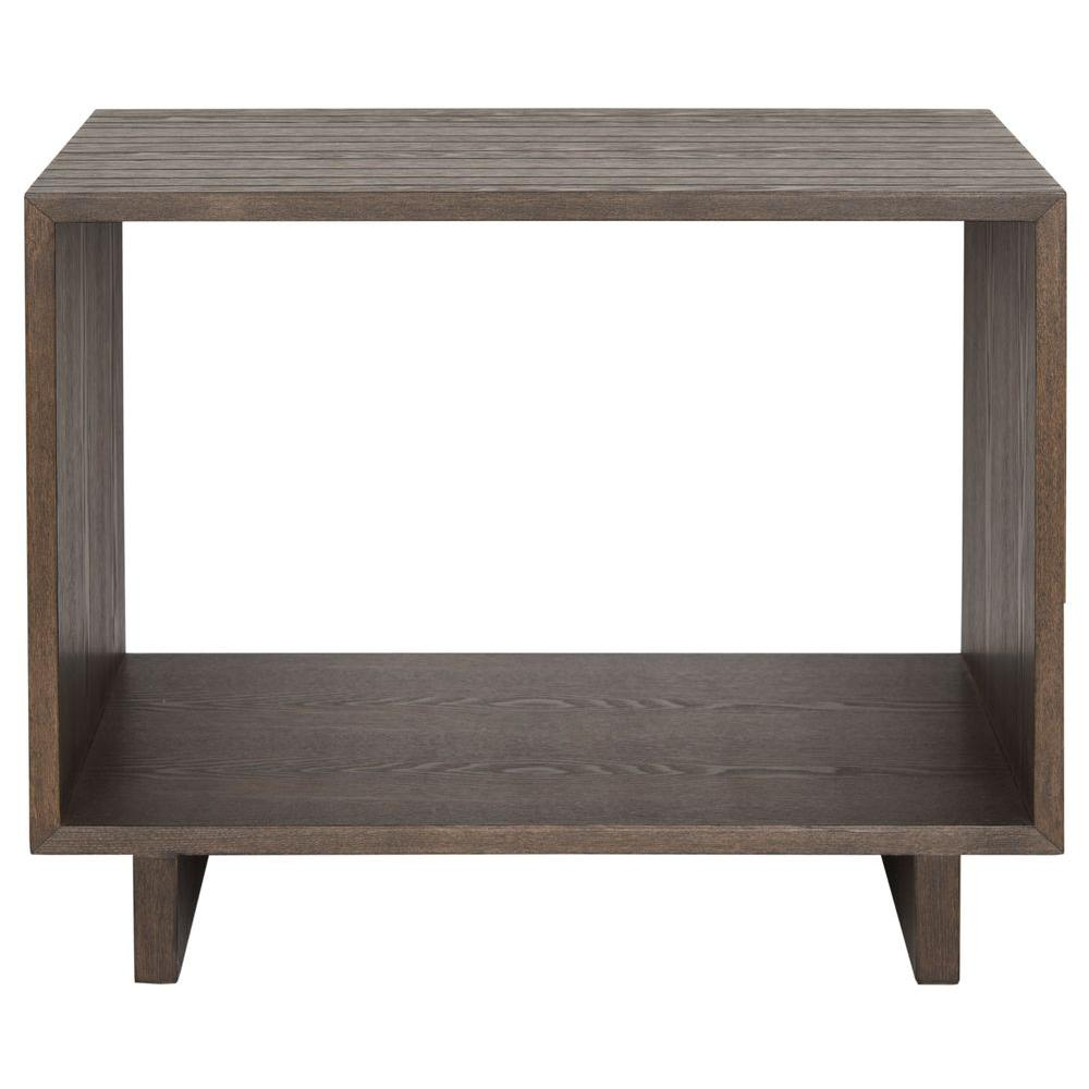 Home Decorators Collection Langston Dark Caffe Trunk End